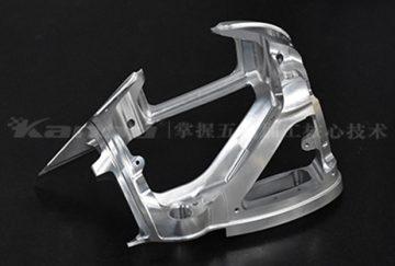 五轴车铣复合加工产品:异形件